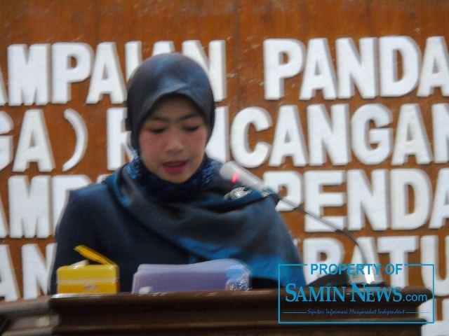 Anggota Fraksi Partai Demokrat, Siti Maudlu'ah