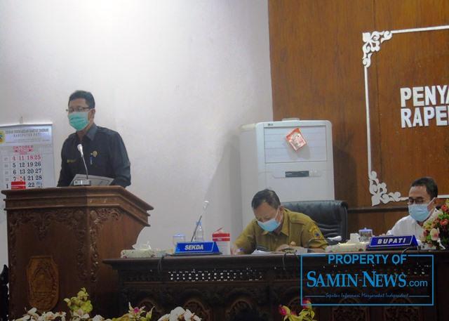 Ketua Fraksi Demokrat DPRD Pati, Aris Sukrisno.