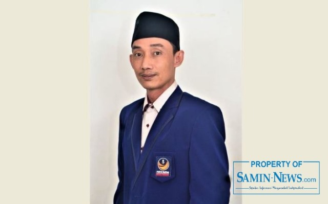 Ketua Fraksi Partai NasDem DPRD Kabupaten Pati, Moh Ali Mundir