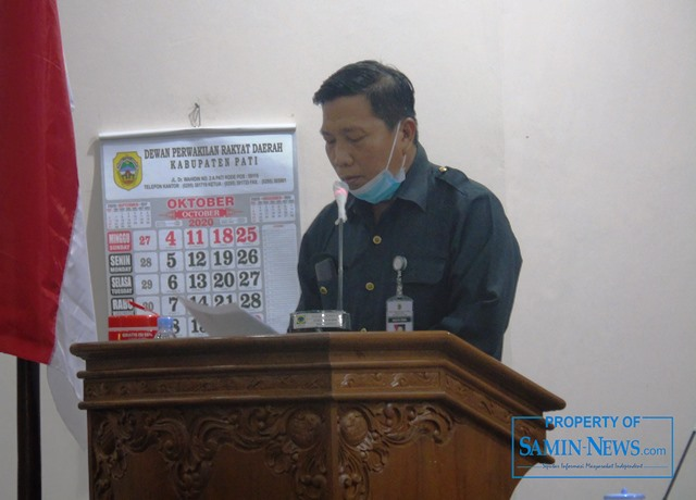Anggota Fraksi NasDem DPRD Pati, Sutikno.