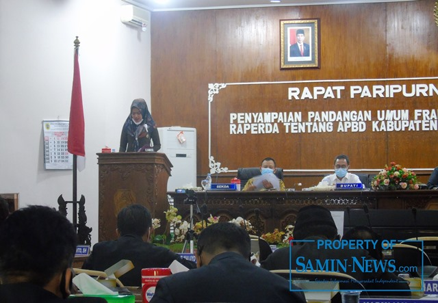 Anggota Fraksi Gerindra DPRD Kabupaten Pati, Yeti Kristianti.
