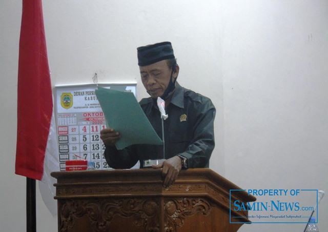 Anggota Fraksi PKB DPRD Pati, H Haryono.