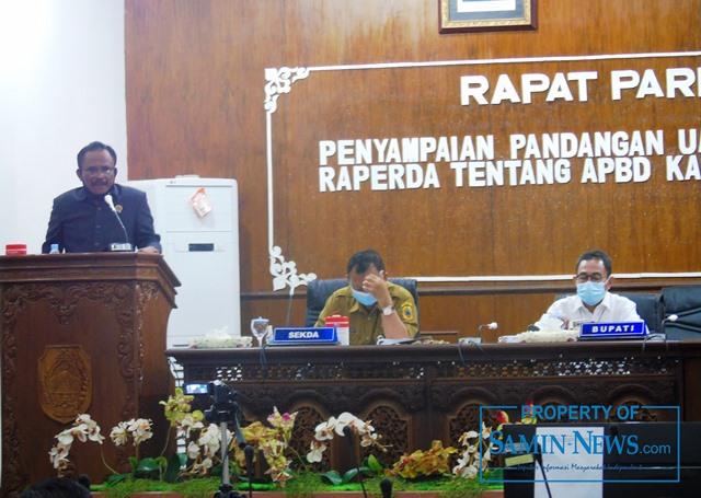 Anggota Fraksi PDI P DPRD Pati, Suyono.