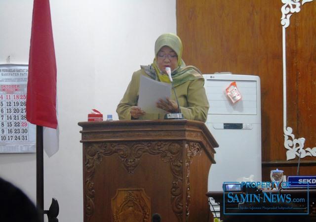 Endah Sri Wahyuningati, Anggota Fraksi Partai Golkar DPRD Kabupaten Pati.