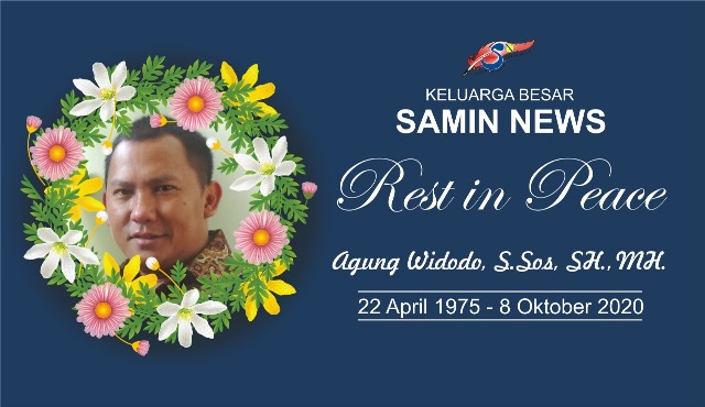 Mengenang Agung Widodo, Salah Satu Pengagas Berdirinya Samin News