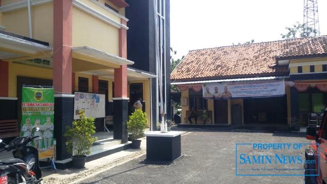 Tampak depan Kantor Kecamatan Sukolilo, Kabupaten Pati.