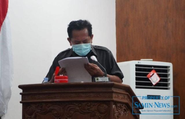 Wakil Ketua Fraksi Partai Golkar DPRD Pati, Ir HM Nur Sukarno