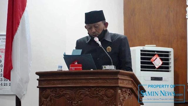Anggota Dewan Perwakilan Rakyat Daerah (DPRD) Kabupaten Pati dari Fraksi Partai Demokrat, Suriyanto A.M.Pd.Pi .