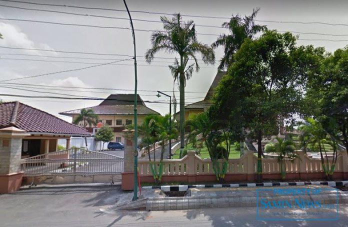 Tampak depan Gedung DPRD Kabupaten Pati.