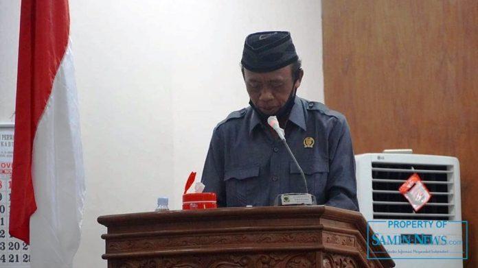 Anggota Fraksi PKB DPRD Kabupaten Pati, Haryono.
