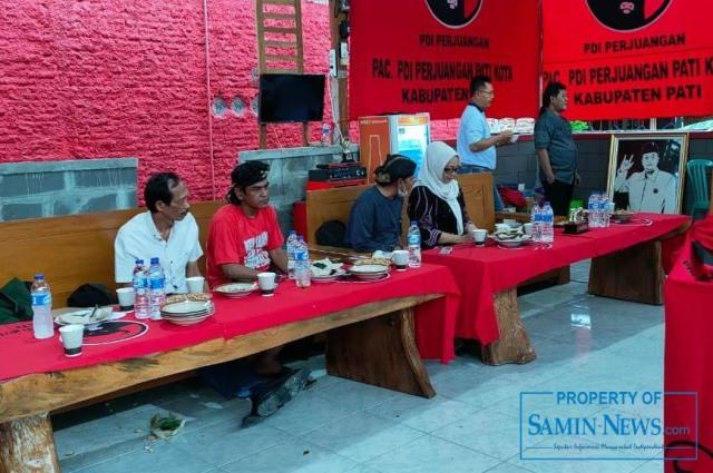 Suasana reses Anggota DPRD Pati, Noto Subiyanto.