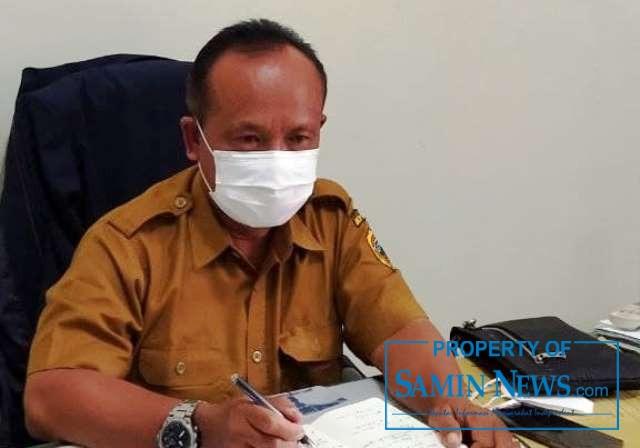 Plt Direktur RSUD RAA Soewondo, Pirno saat dikonfirmasi oleh Samin News di ruang kerjanya, Selasa (15/12/2020).