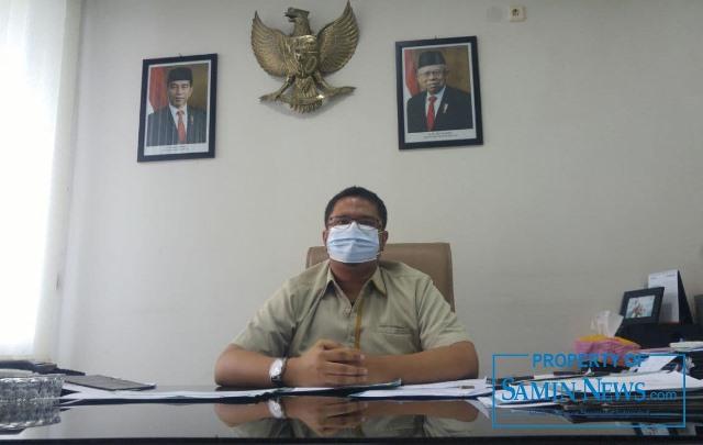 Kepala Bulog Sub-Divre Pati, Yonas Haryadi Kurniawan.
