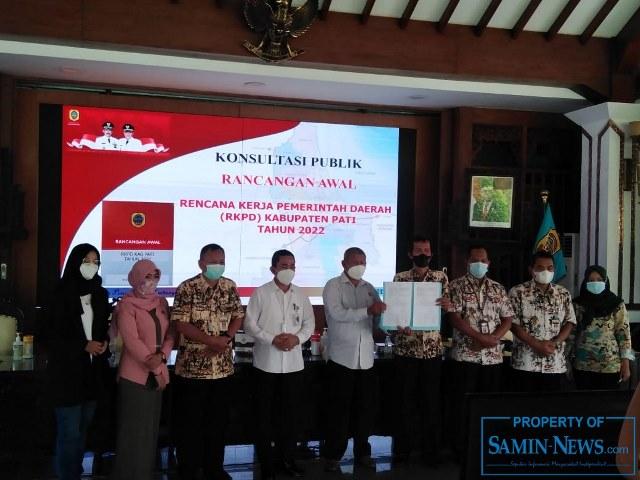Samin News Konsultasi Publik Rkpd Guna Bahan Perumusan Kebijakan