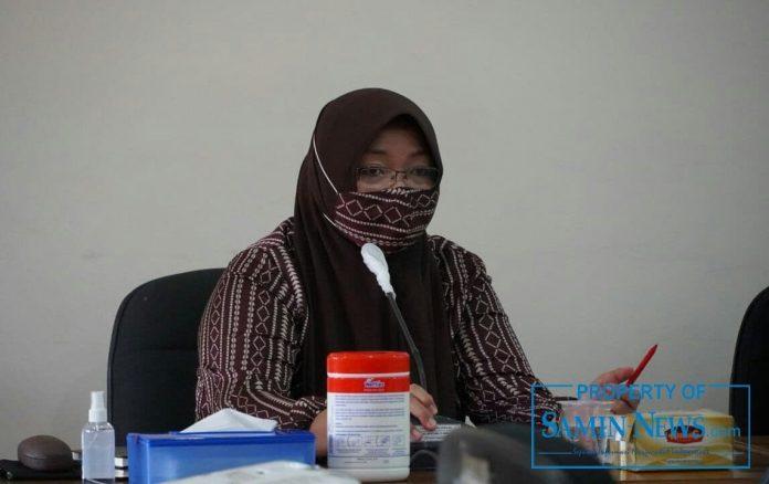 Wakil Komisi D Dewan Perwakilan Rakyat Daerah (DPRD) Kabupaten Pati, Endah Sri Wahyuningati